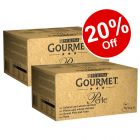 192 x 85g Gourmet Perle Pouches Mixed Mega Pack Wet Cat Food - 20% Off!*
