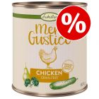 6 x 800g Lukullus Menu Gustico Grain-Free Wet Dog Food - Special Price!*
