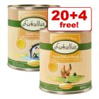 24 x 800g Lukullus Seasonal Menu Mixed Pack Wet Dog Food - 20 + 4 Free!*