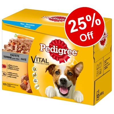144 x 100g Pedigree Pouches - 25% Off!*