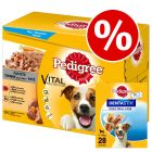 96 x 100g Pedigree Pouches + 28 x Dentastix Oral Care - Special Bundle!*