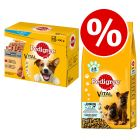 48 x 100g Pedigree Pouches + 15kg Pedigree Dry Dog Food - Special Bundle!*