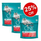 3 x 800g Purina ONE Dry Cat Food - 25% Off!*