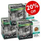 30 x 85g Purina Pro Plan Megapack Nutrisavour Sterilised - 20% Off!*