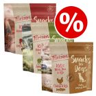 3 x 100g Purizon Dog Snacks Grain-Free Mixed Pack - Special Price!*
