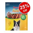 2 x 200g Rocco Rolls Chew Sticks - 25% Off!*