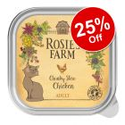 16 x 100g Rosie's Farm Wet Cat Food - 25% Off!*