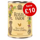 24 x 400g Rosie's Farm Wet Dog Food - £10 Off!*