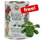 12 x 400g Rosie's Farm Wet Dog Food + KONG Cozie Ali Free!*