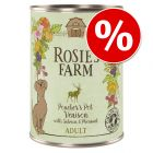 6 x 400g Rosie's Farm Wet Dog Food - Special Price!*