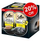 6 x 37.5g Sheba Perfect Portions Wet Cat Food - 20% Off!*