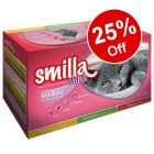 24 x 85g Smilla Adult Sterilised Mixed Pack - 25% Off!*