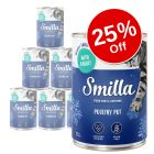 6 x 400g Smilla Tender Poultry Winter Edition Wet Cat Food - 25% Off!*