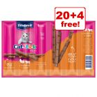 24 x 6g Vitakraft Mini Cat Sticks - 20 + 4 Free!*