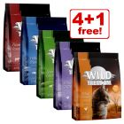 5 x 400g Wild Freedom Adult Dry Cat Food Mixed Pack - 4 + 1 Free!*