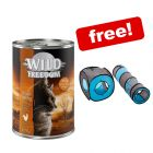 24 x 400g Wild Freedom Wet Cat Food + Connect 2in1 Tunnel Set Free!*