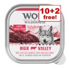 12 x 300g Wolf of Wilderness Adult - 10 + 2 Free!*