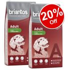 2 x 14kg Briantos Dry Dog Food - 20% Off!*
