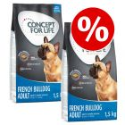 2 x 1.5kg Concept for Life Dry Dog Food - Special Price!*