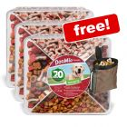 3 x 1.2kg DogMio Barkis BirthdayEdition Snack Box + Trixie Snack Bag Free!*