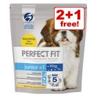 3 x 1.4kg Perfect Fit Dry Dog Food - 2 + 1 Free!*