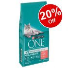 2 x 9.75kg Purina ONE Dry Cat Food - 20% Off!*
