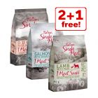 3 x 1kg Purizon Single Meat Mixed Pack Dry Dog Food - 2 + 1 Free!*