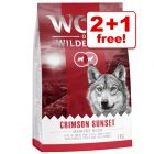 3 x 1kg Wolf of Wilderness Dry Dog Food - 2 + 1 Free!*