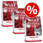 3 x 1kg Wolf of Wilderness Dry Dog Food - Special Price!*