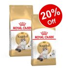 2 x 2kg/4kg Royal Canin Breed Dry Cat Food - 20% Off!*