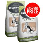 2 x 30l Greenwoods Natural Clumping Litter - Discount Price!*