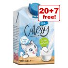27 x 200ml Catessy Cat Milk - 20 + 7 Free!*