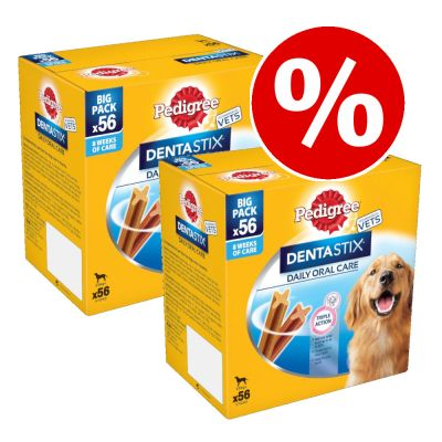 140 x Pedigree Dentastix / Fresh Megapack