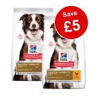 2 x Small Bags Hill's Science Plan Dry Dog Food - £5 Off!*