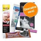 Смесена опаковка с пасти и кремове за котки
