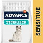 Advance Sterilized Sensitive, saumon pour chat
