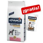 Advance Veterinary Diets 10 a 15 kg + snack Advance ¡gratis!