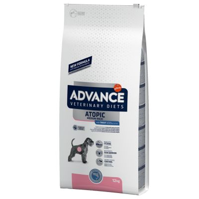 Advance Atopic met Forel Hondenvoer