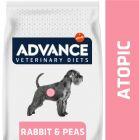 Advance Atopic Veterinary Diets com coelho e ervilhas para cães