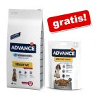 Advance crocchette + 150 g Advance Sensitive Snack gratis!