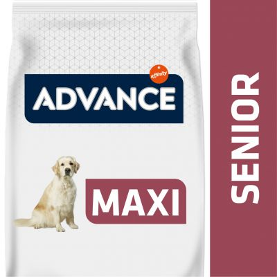 Advance Maxi + 6 Senior con pollo