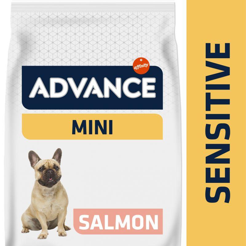 Advance Mini Sensitive salmón y arroz