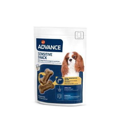 Advance Sensitive snacks para cães