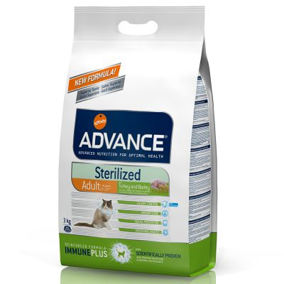 Advance Sterilized pienso para gatos - Pack mixto