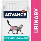 Advance Urinary Low-Calorie/Sterilized Veterinary Diets para gatos