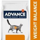 Advance Weight Balance Veterinary Diets para gatos
