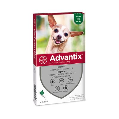 Advantix® Spot-on per cani fino a 4 kg