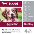 Advantix® 250/1250 Spot-On Solution voor Honden 10 - 25 kg