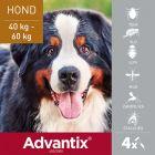 Advantix® 600/3000 Spot-On Solution voor Honden 40 - 60 kg