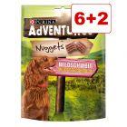 AdVENTuROS Nuggets -koiranherkut 6 x 300 g + 2 kaupan päälle!